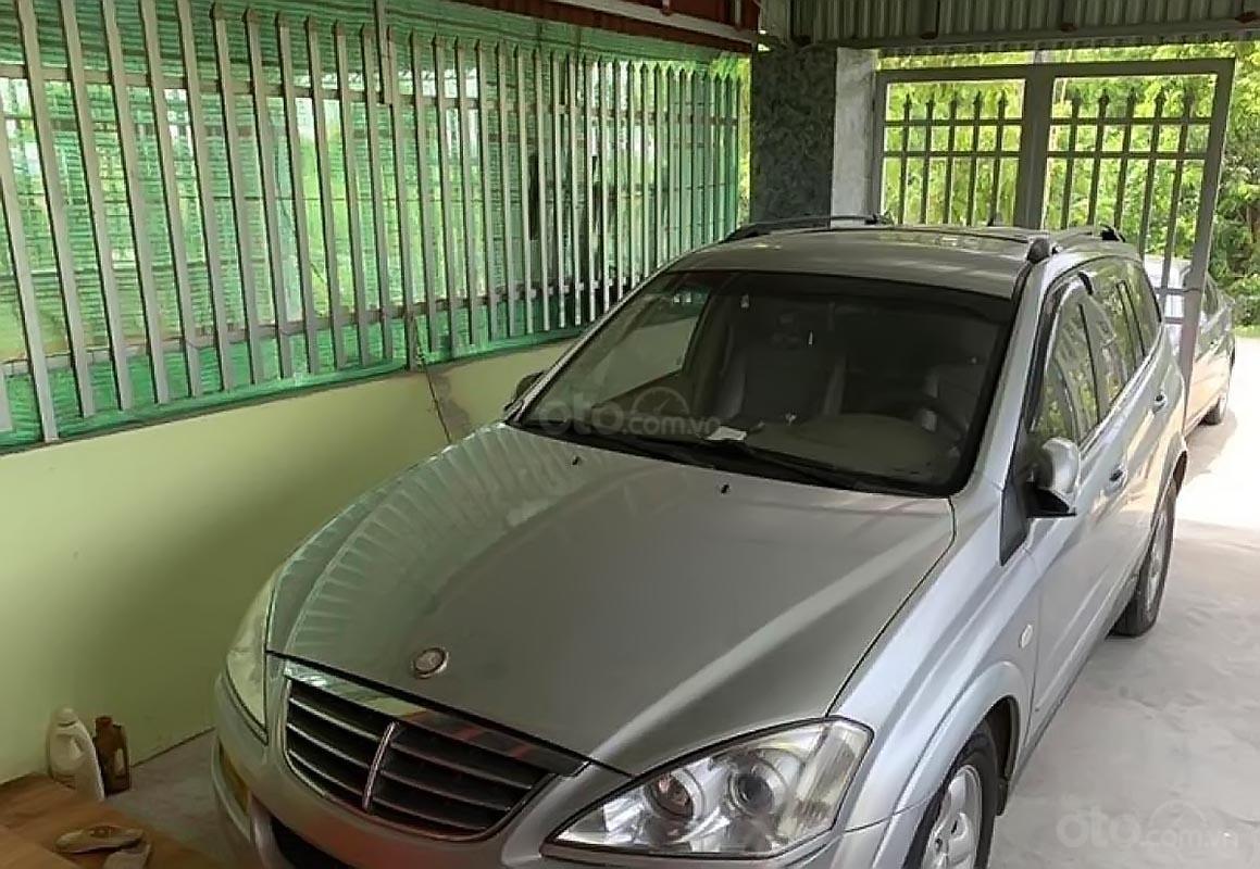 Bán Ssangyong Kyron 2.0Xdi AT 4WD đời 2008, màu bạc, nhập khẩu nguyên chiếc  -0