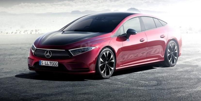 Ảnh dựng của Mercedes-Benz EQS 2020.