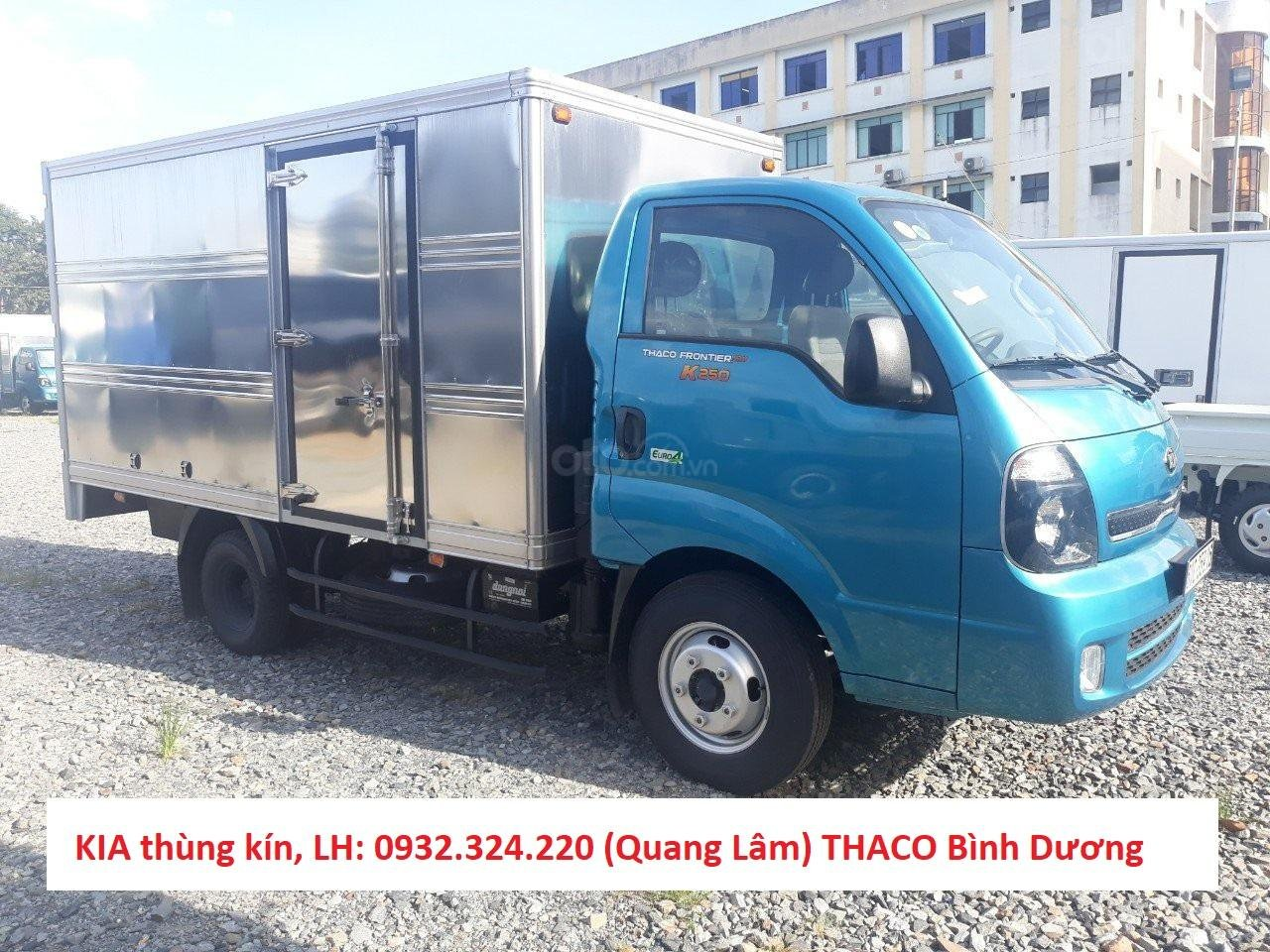 Bán xe tải trả góp Kia K250 máy Hyundai tải 2,49 tấn, có máy lạnh sẵn. Xe có lấy liền tại Thuận An - Bình Dương (4)