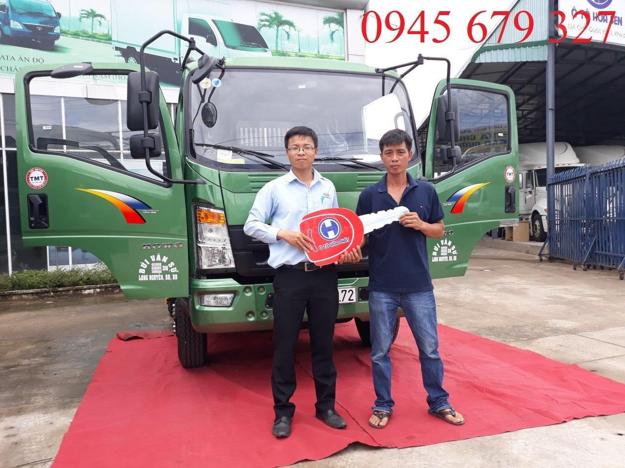 Bán xe ben Howo 6 tấn 5 ga cơ, trả góp giá rẻ (1)