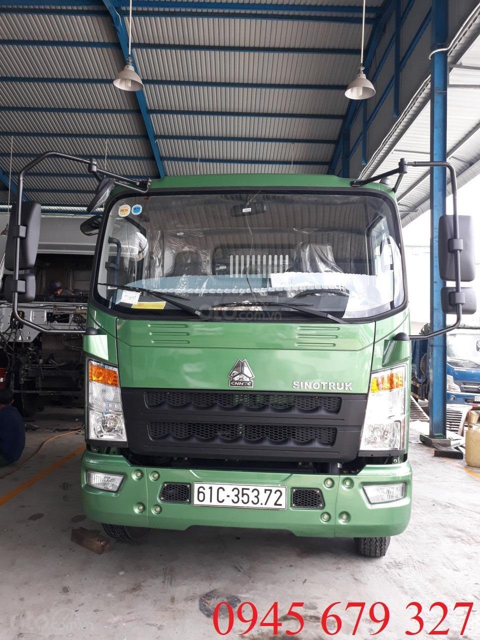Bán xe ben Howo 6 tấn 5 ga cơ, trả góp giá rẻ (2)