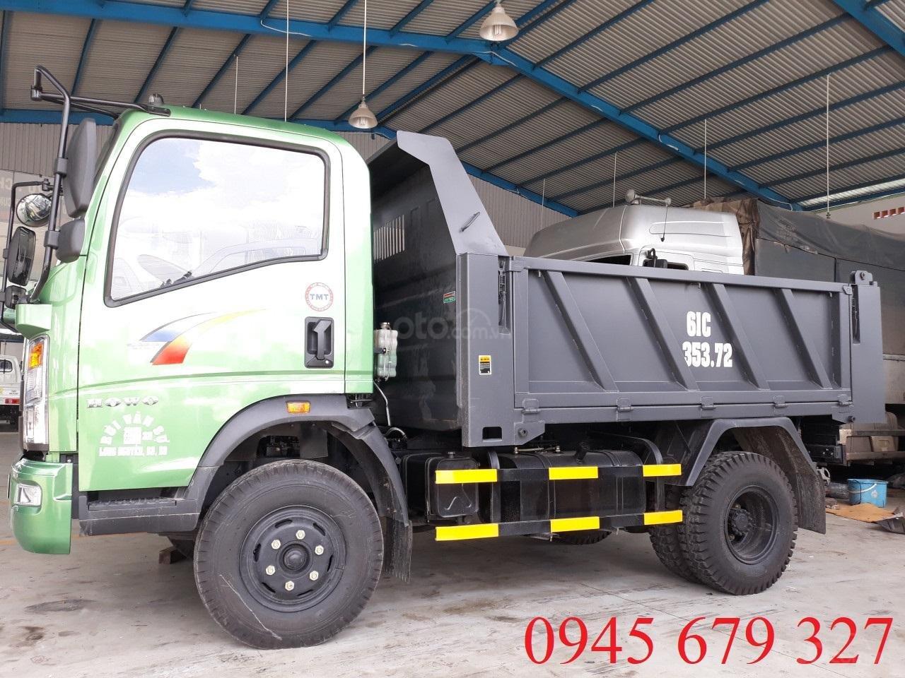 Bán xe ben Howo 6 tấn 5 ga cơ, trả góp giá rẻ (3)