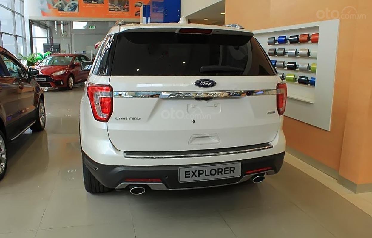 Bán Ford Explorer Limited 2.3L EcoBoost đời 2019, màu trắng, nhập khẩu nguyên chiếc (1)