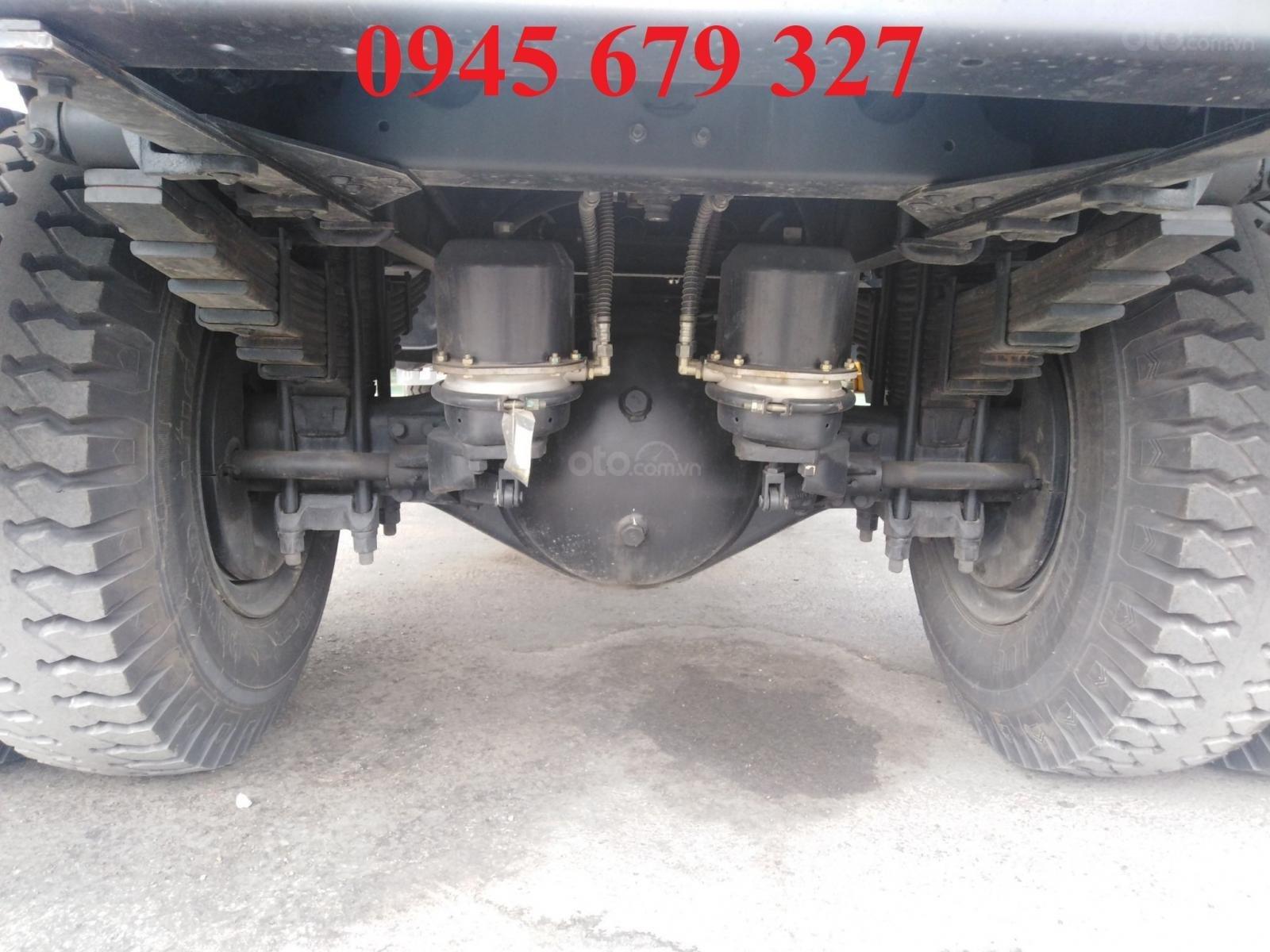 Thanh lý xe ben Howo 9 tấn 5 ga cơ, trả trước 190 triệu nhận xe (7)