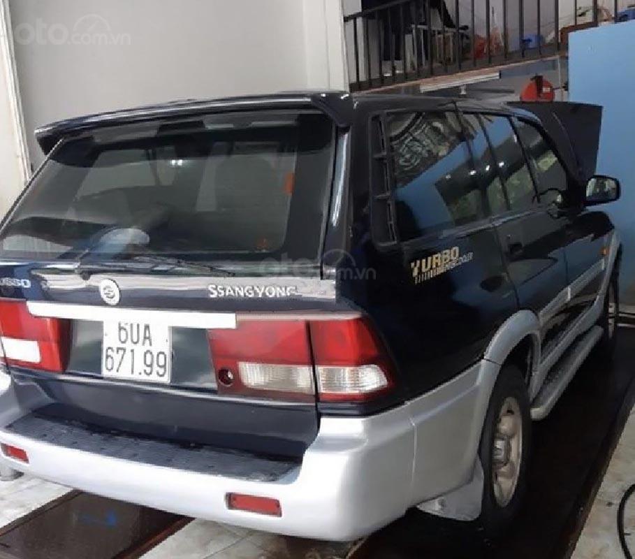 Bán Ssangyong Musso 2.3 2001, màu xám, nhập khẩu   (2)