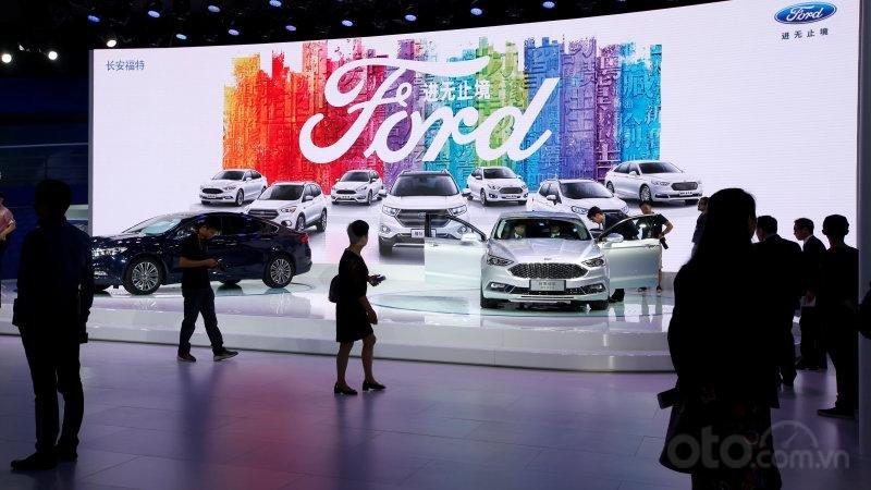 Doanh số của Ford tại Trung Quốc đã sụt giảm liên tục trong những năm gần đây
