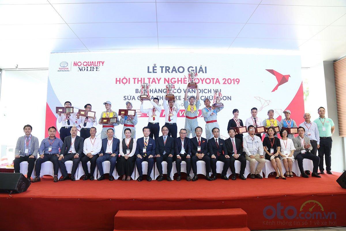 Hội thi tay nghề Toyota 2019.