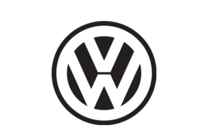 Logo Volkswagen giai đoạn 1945-1960.