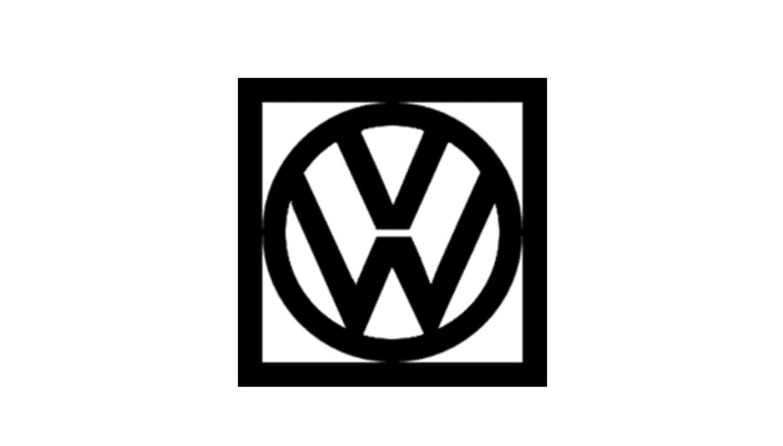 Logo Volkswagen giai đoạn 1960-1967.