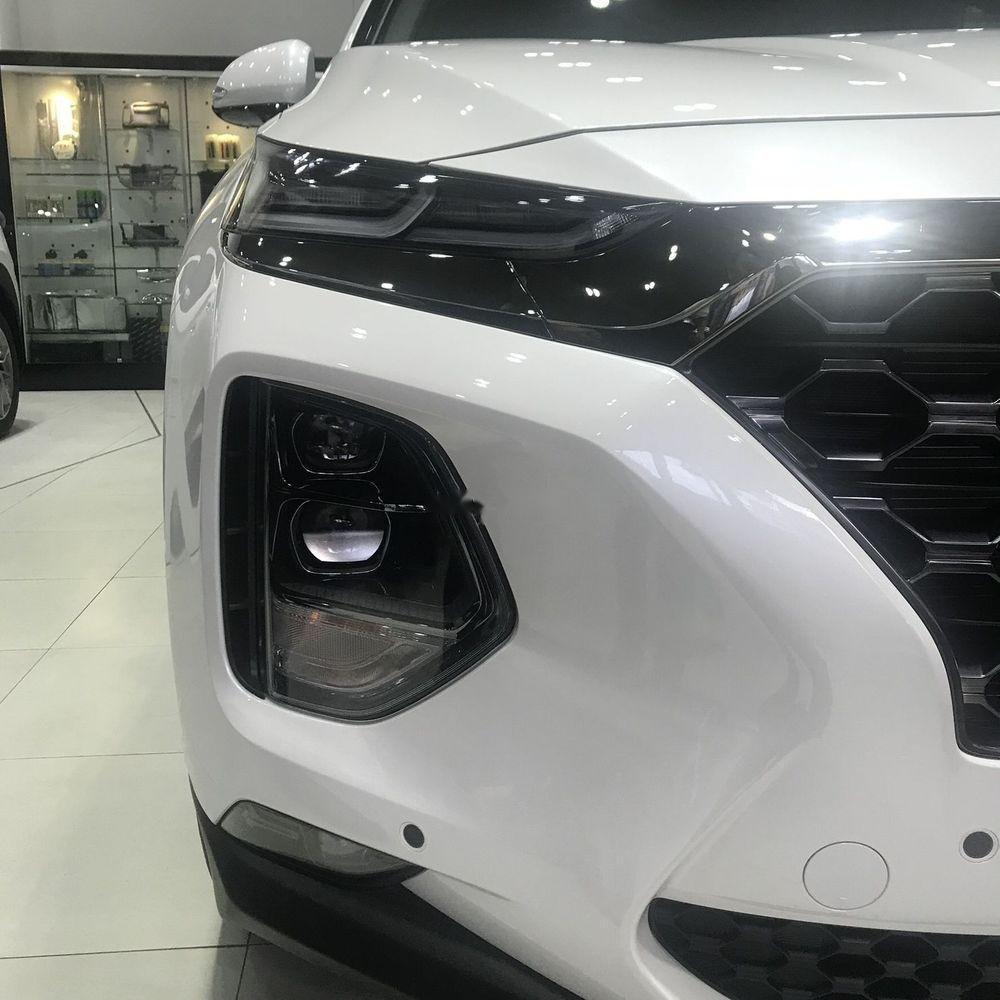 Bán xe Hyundai Santa Fe máy xăng tiêu chuẩn đời 2019, giao nhanh (4)