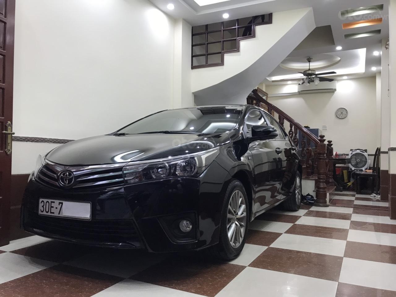 Toyota Corolla Altis 1.8G màu đen, đời 2017, số tự động đa cấp, lốp dự phòng còn mới tinh, biển đẹp, màn hình DVD (5)