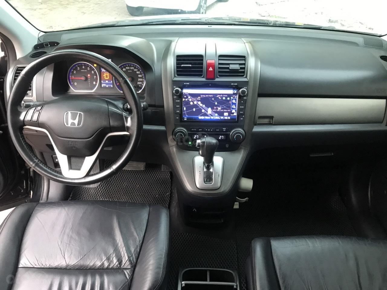 Bán xe Honda CR V 2.4 AT đời 2011, màu đen-3