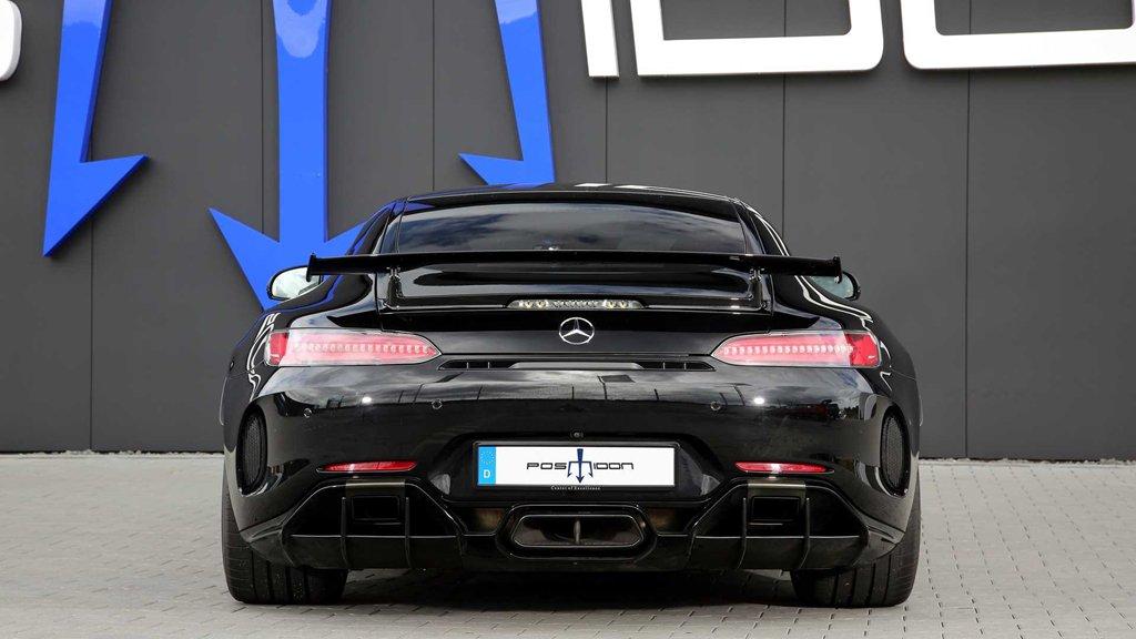 Ngắm bản độ Mercedes-AMG GT R mạnh 880 mã lực của Posaidon a3