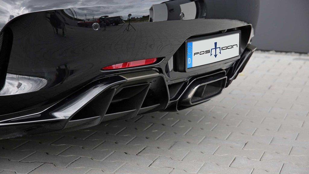 Ngắm bản độ Mercedes-AMG GT R mạnh 880 mã lực của Posaidon a5