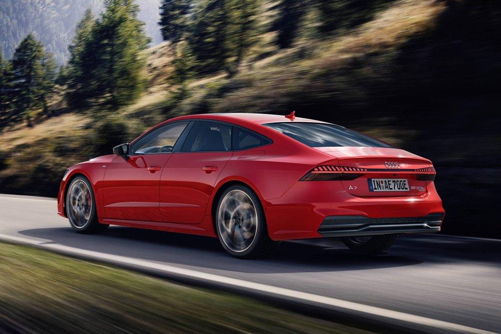 Audi A7 2020 Sportback 55 TFSI e quattro chính thức mở bán a4