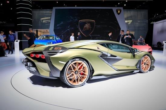 Siêu xe Hybrid Lamborghini Sian trình làng tại Frankfurt Motor Show 2019 a2