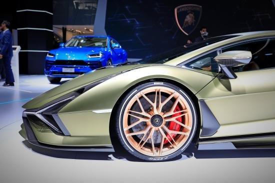 Siêu xe Hybrid Lamborghini Sian trình làng tại Frankfurt Motor Show 2019 a7