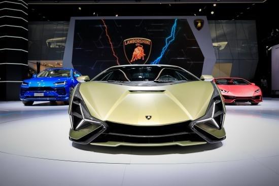 Siêu xe Hybrid Lamborghini Sian trình làng tại Frankfurt Motor Show 2019 a3