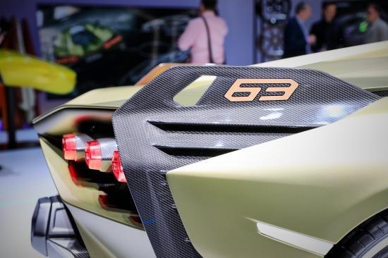 Siêu xe Hybrid Lamborghini Sian trình làng tại Frankfurt Motor Show 2019 a18