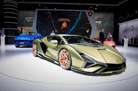 Siêu xe Hybrid Lamborghini Sian trình làng tại Frankfurt Motor Show 2019 a15