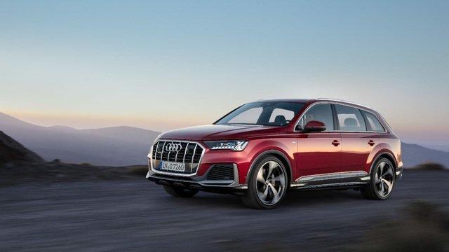 Audi Q7 2020 facelift trình làng a1