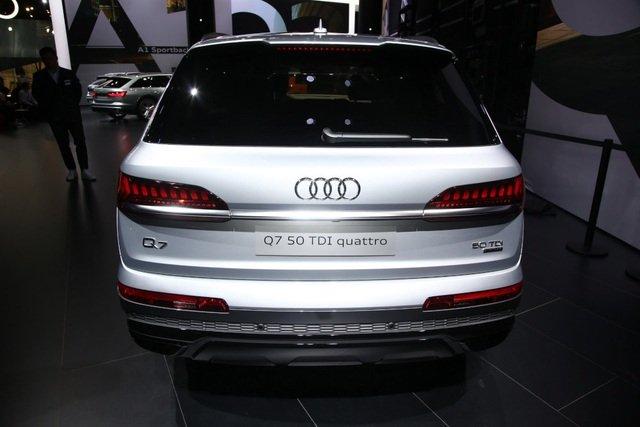 Audi Q7 2020 facelift trình làng tại triển lãm ô tô Frankfurt a20