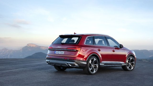 Audi Q7 2020 facelift trình làng tại triển lãm ô tô Frankfurt a10
