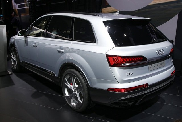 Audi Q7 2020 facelift trình làng tại triển lãm ô tô Frankfurt a19