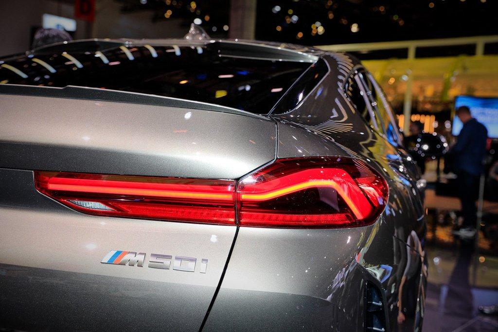 BMW X6 thế hệ mới gây ấn tượng mạnh khi xuất hiện tại triển lãm Frankfurt Motor Show 2019 a9