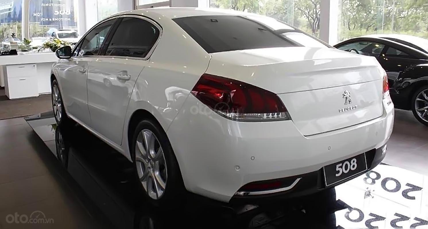 Bán ô tô Peugeot 508 1.6 AT đời 2015, màu trắng, nhập khẩu-1