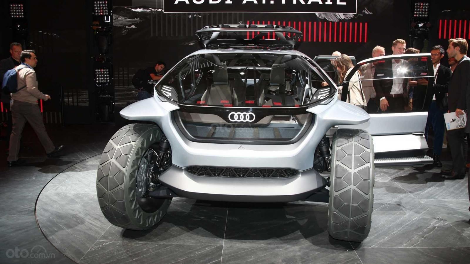 [Frankfurt 2019] Audi AI:Trail Quattro Concept - Đỉnh cao xe sang off-road tương lai