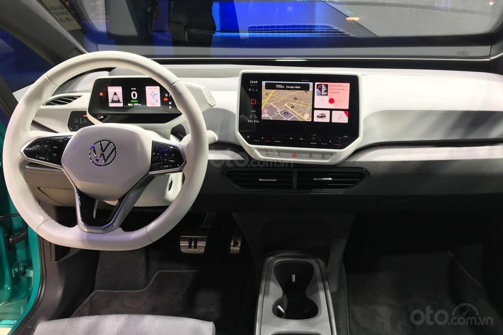 Volkswagen ID.3 có nội thất mang tính chất tương lai