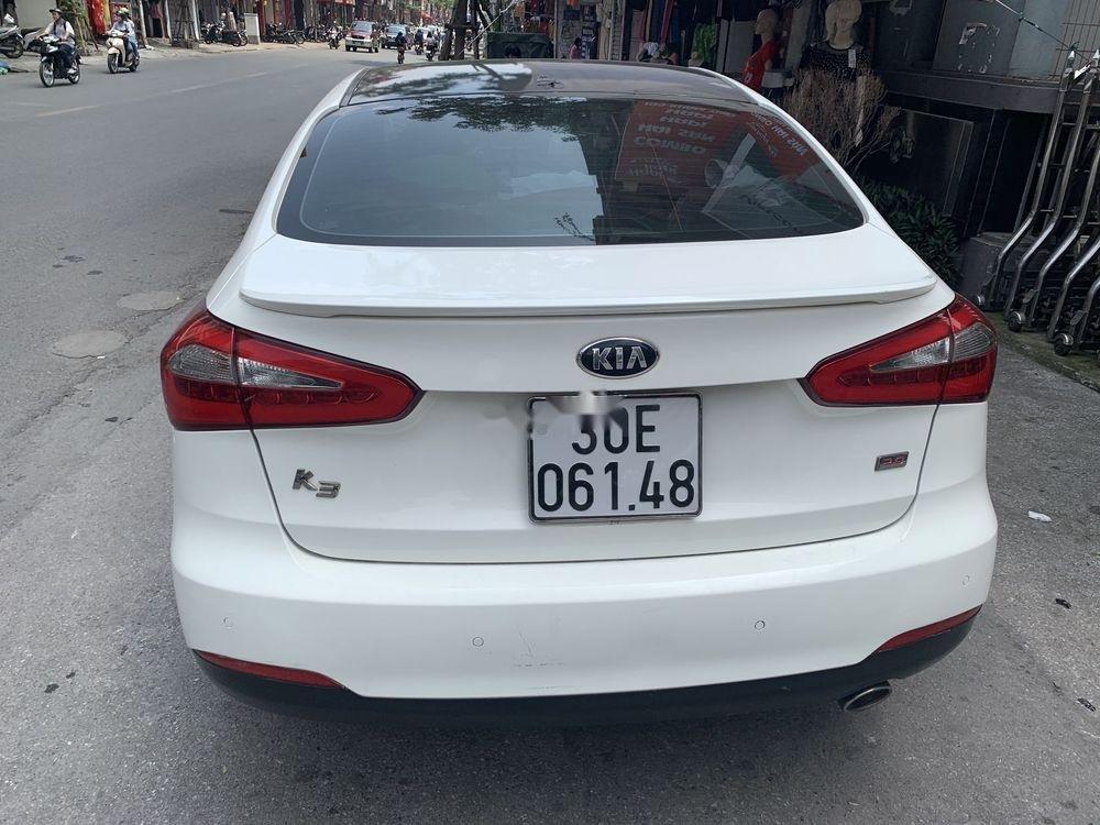 Cần bán xe Kia K3 sản xuất 2013, màu trắng chính chủ, giá chỉ 500 triệu (1)