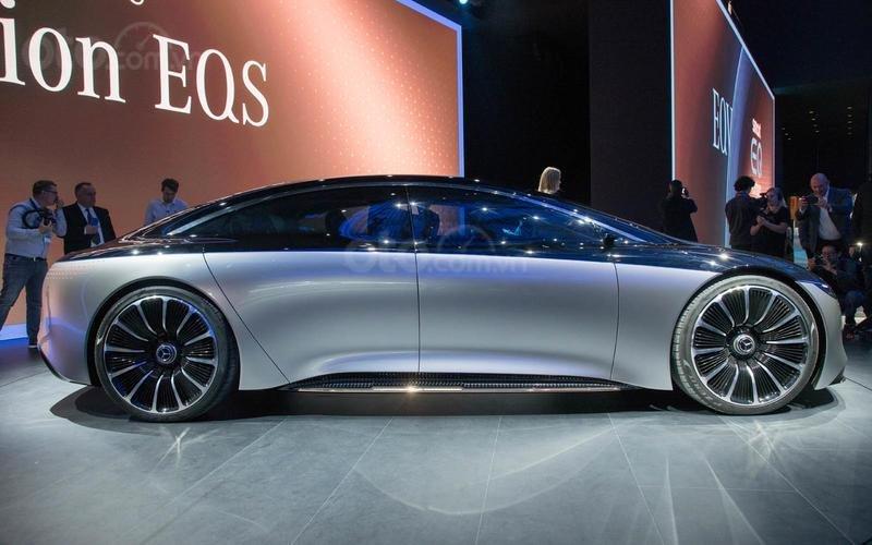Mẫu concept của Mercedes-Benz EQS.