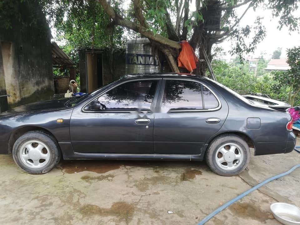 Bán Nissan Bluebird đời 1993, ĐK 2007, màu xám, xe nhập (1)