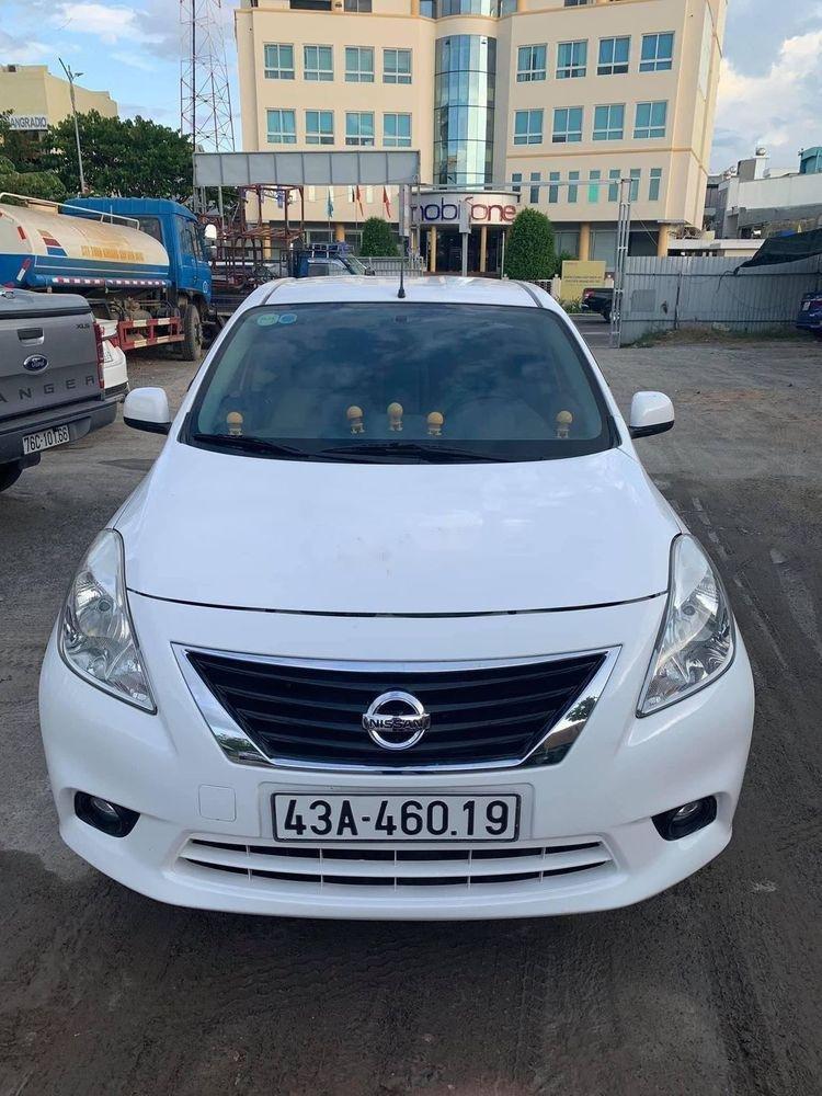 Lên đời bán Nissan Sunny đời 2014, màu trắng, nhập khẩu (1)