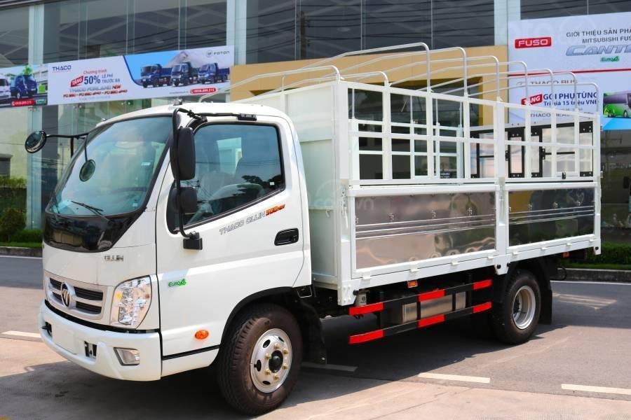[ Thaco Lái Thiêu] Bán xe tải 3,5 tấn Thaco Ollin350. E4 động cơ Isuzu đời 2018 - Lh: 0944.813.912 (1)