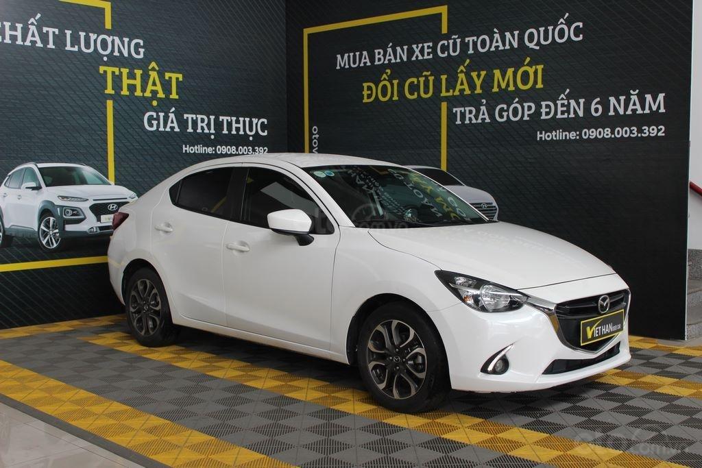 Cần bán xe Mazda 2 1.5AT đời 2017, màu trắng (4)