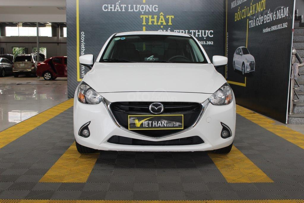 Cần bán xe Mazda 2 1.5AT đời 2017, màu trắng (2)