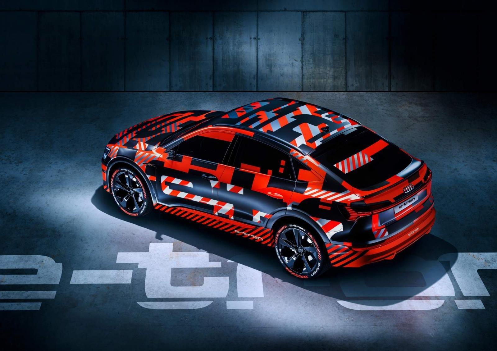 Audi E-Tron Sportback 2020 có phạm vi hoạt động khoảng 328 km mỗi lần sạc.