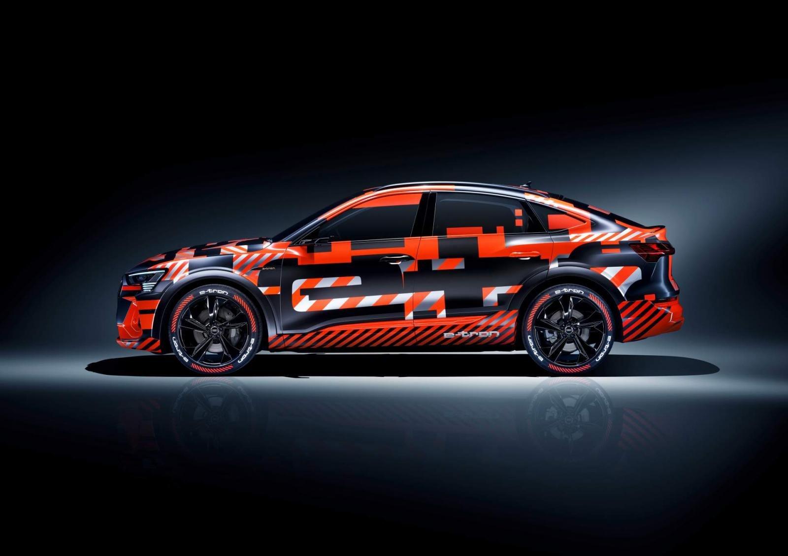 Thông tin chi tiết Audi E-Tron Sportback 2020 vẫn chưa được tiết lộ thêm.