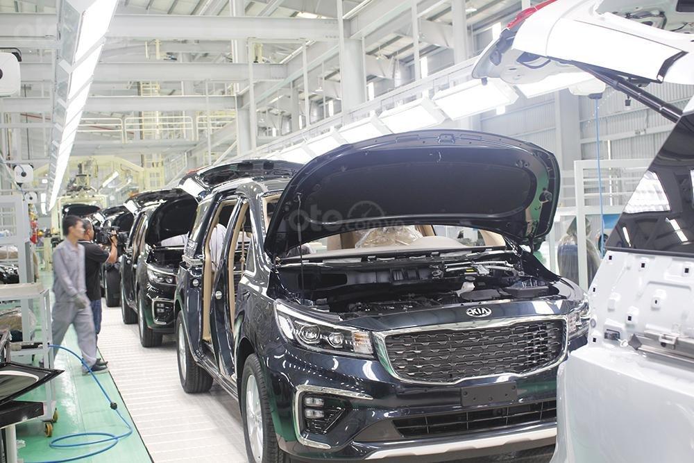 Nhà máy Thaco Kia nâng cấp 4
