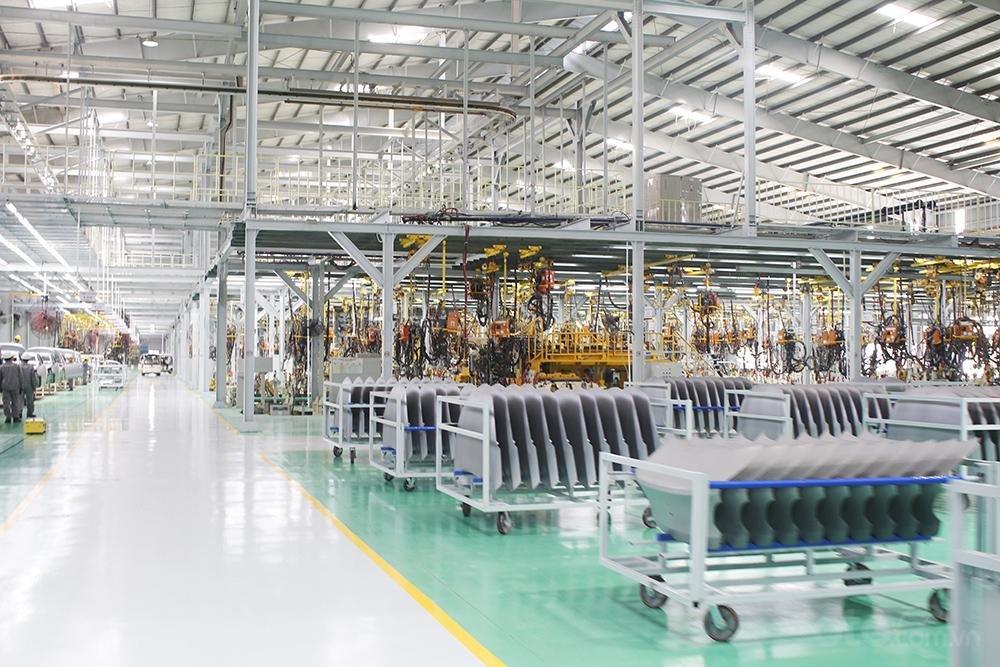 Dây chuyền sản xuất của Thaco Kia