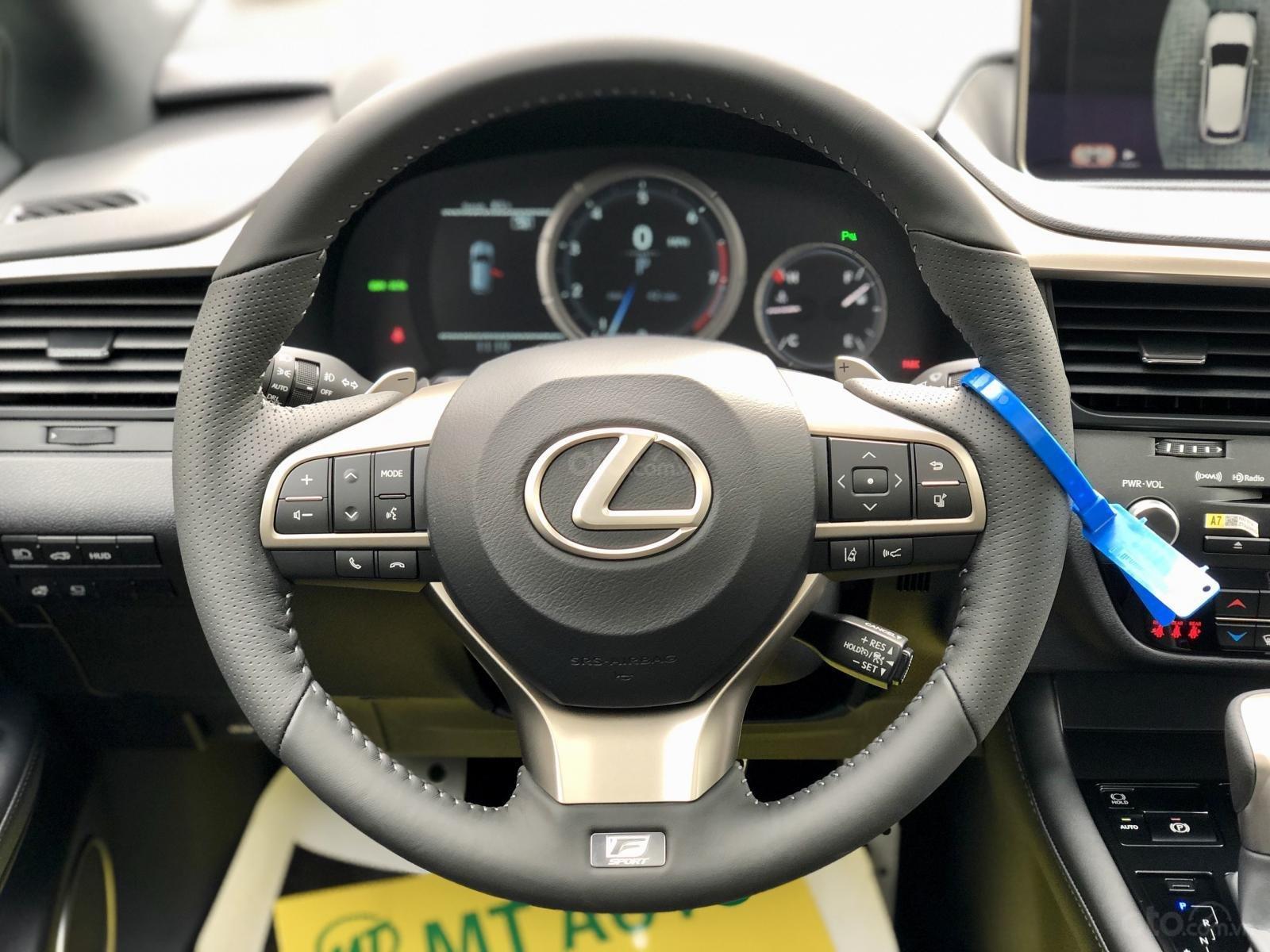 Bán Lexus RX 350 Fsport 2020 màu trắng nhập Mỹ giao ngay toàn quốc LH Ms Hương (5)