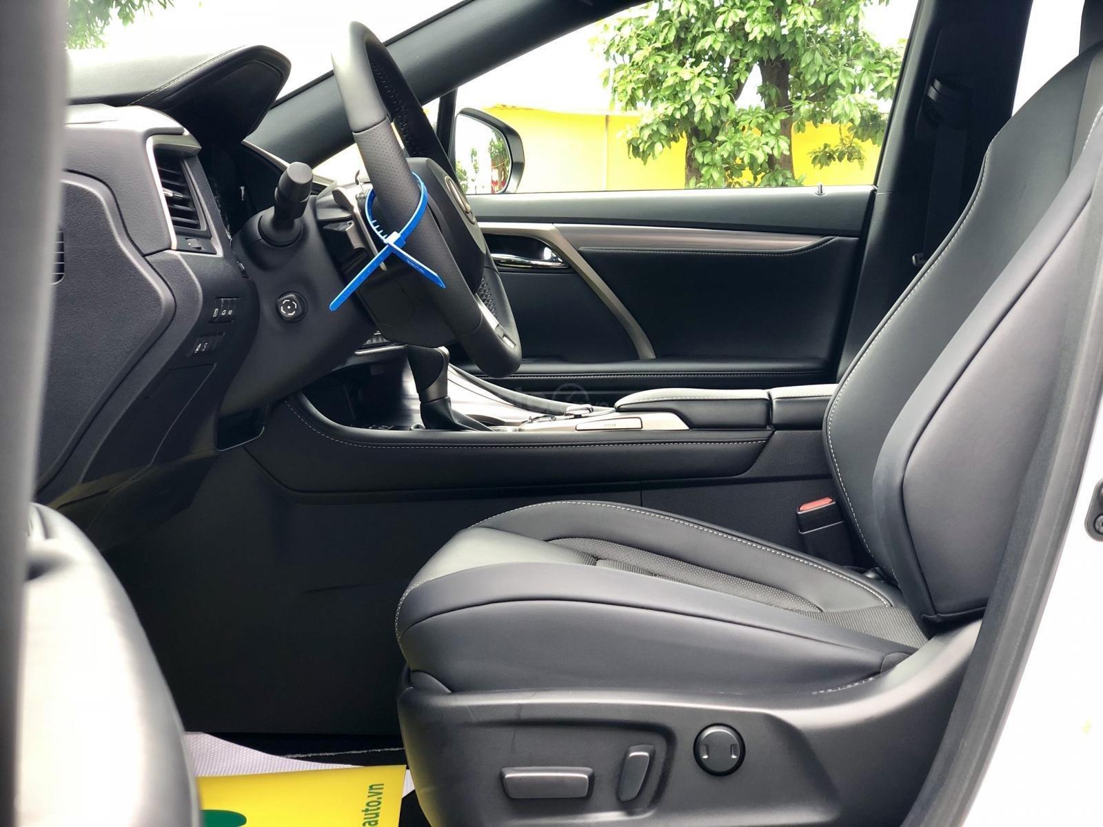 Bán Lexus RX 350 Fsport 2020 màu trắng nhập Mỹ giao ngay toàn quốc LH Ms Hương (10)