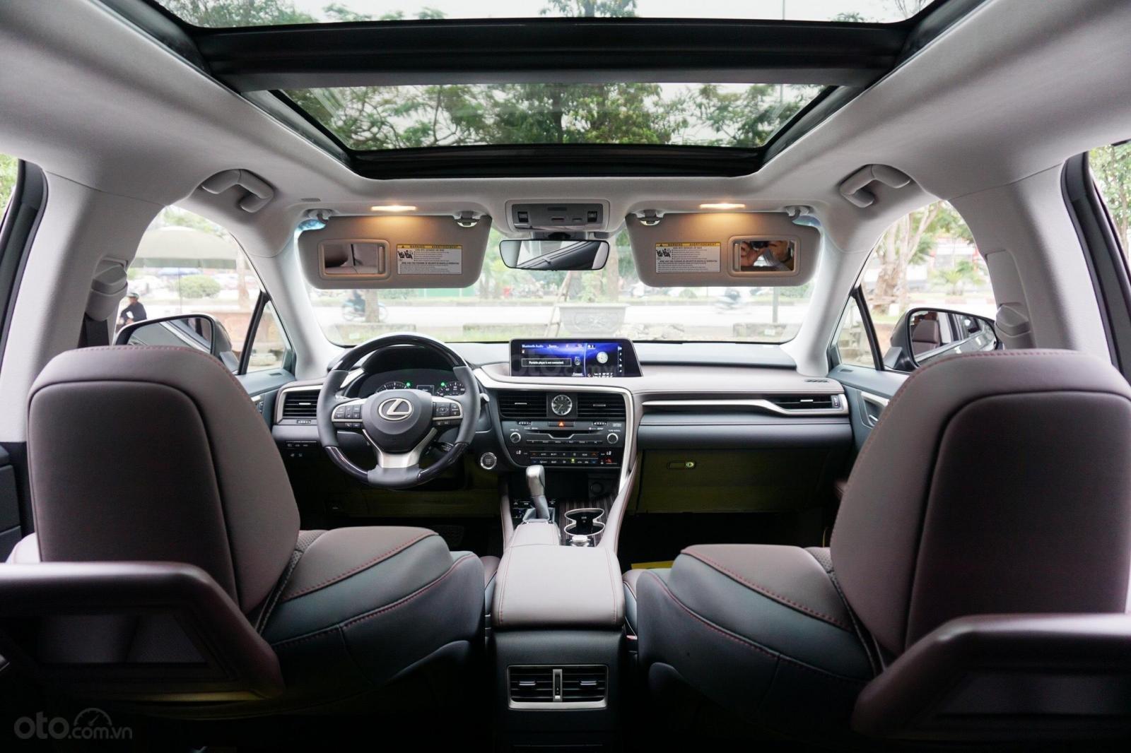 Bán Lexus RX 350 sản xuất 2019, màu đen, nhập Mỹ, giao ngay, LH 094.539.2468 Ms Hương (17)