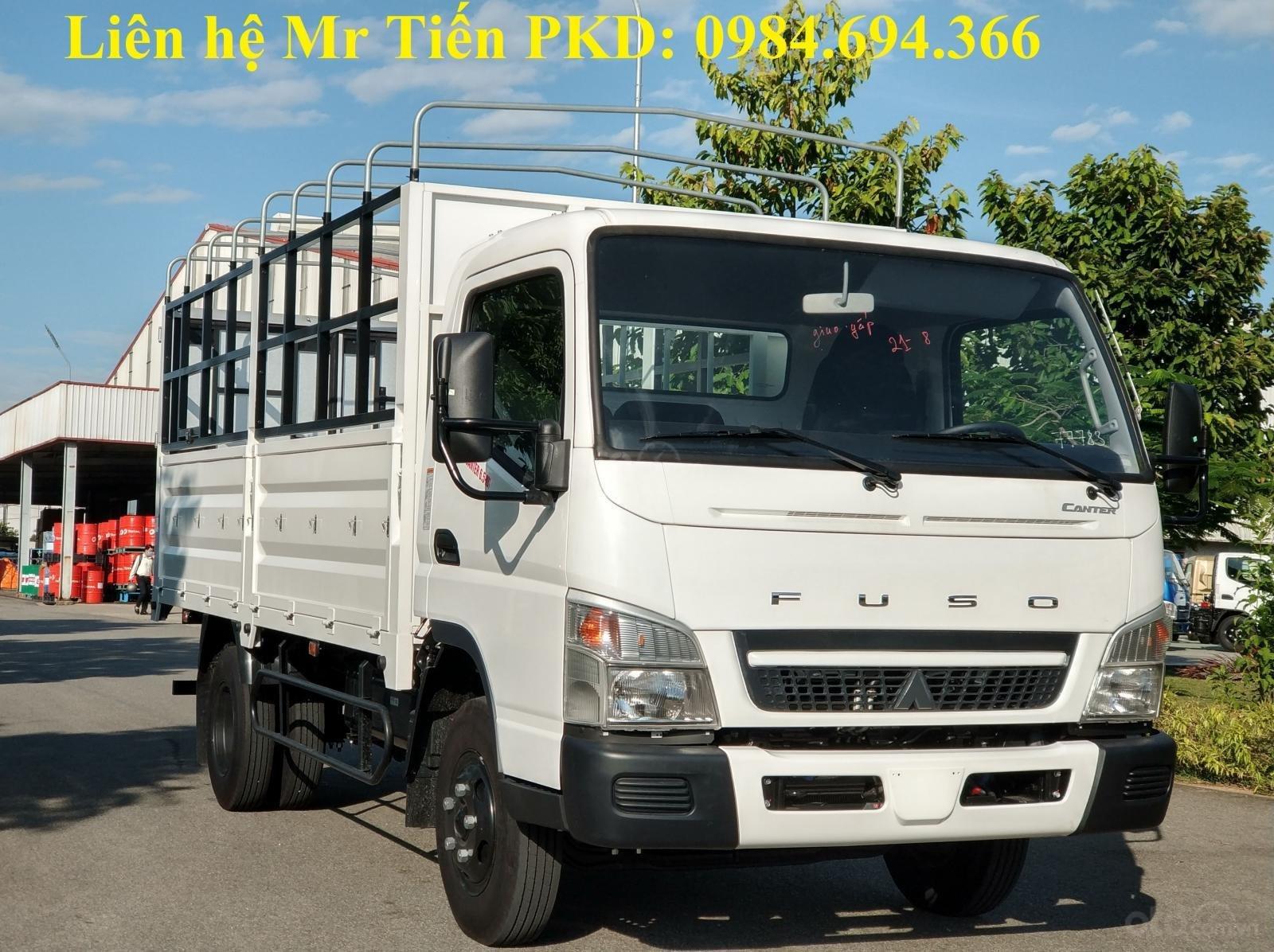 Bán xe tải nhập khẩu Mitsubishi Canter 6.5 tải 3.4 tấn, thùng dài 4.3m, hỗ trợ trả góp 80% (2)