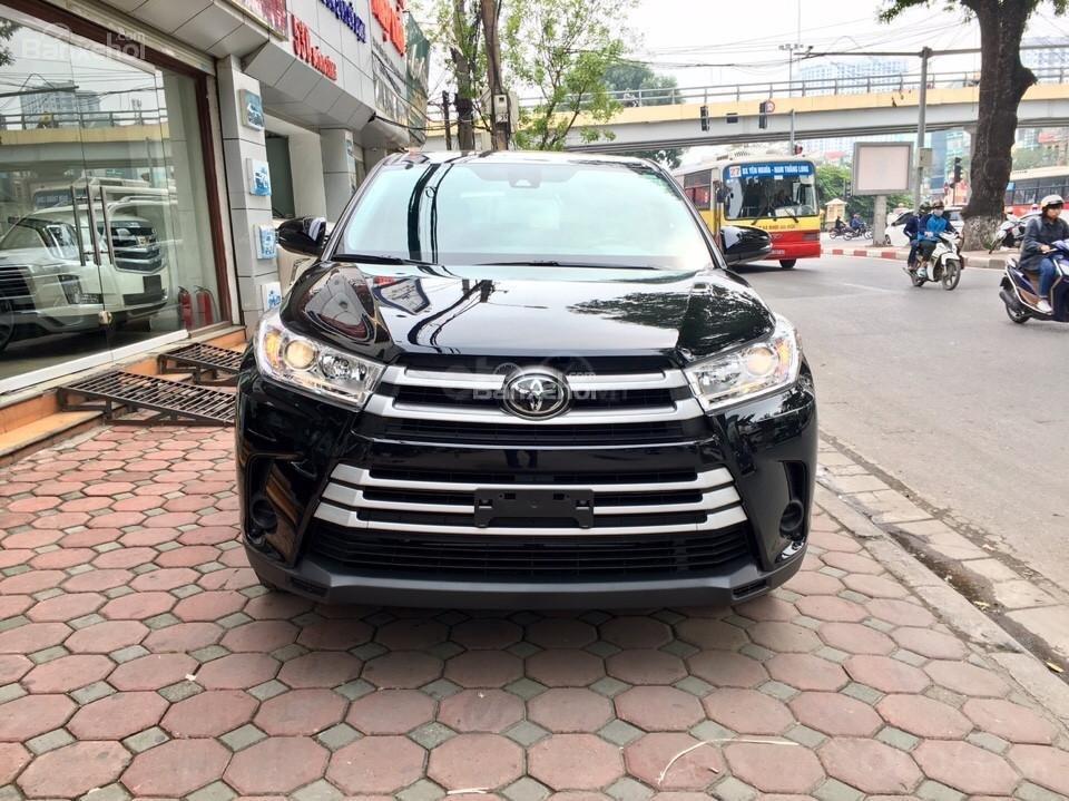 Bán xe Toyota Highlander LE 2019, màu đen, màu đỏ nhập khẩu Mỹ, LH em Hương: 0945392468 (2)