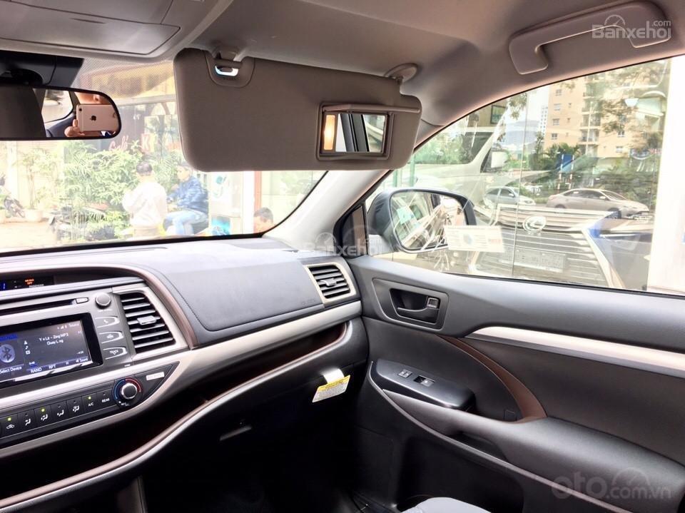 Bán xe Toyota Highlander LE 2019, màu đen, màu đỏ nhập khẩu Mỹ, LH em Hương: 0945392468 (16)