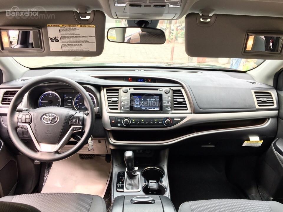 Bán xe Toyota Highlander LE 2019, màu đen, màu đỏ nhập khẩu Mỹ, LH em Hương: 0945392468 (12)